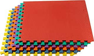 We Sell Mats Multipurpose Exercise Floor Mat with EVA Foam, Interlocking Tiles,..