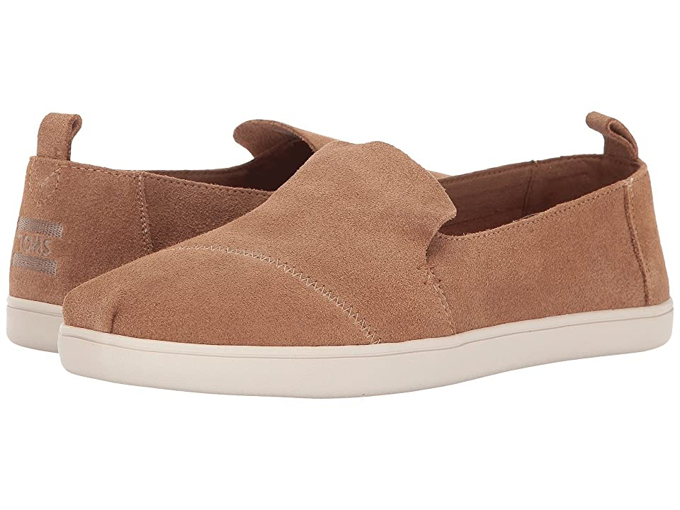 TOMS Deconstructed Alpargata (Toffee Suede cupsole) Women