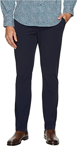Slim Fit Solid Stretch Tech Pants
