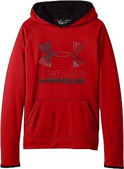 Under Armour Kids - SG Armour Fleece Solid Big Logo Hoodie (Big Kids)