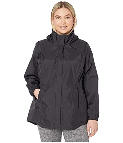 The North Face Plus Size Resolve Parka II (TNF Black) Women