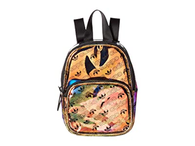 adidas Originals Originals Mini Iridescent Backpack (Radiant Metallic Forum Monogram Small/Black) Backpack Bags