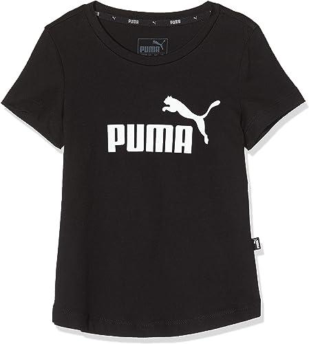 Puma ESS Tee G T-Shirt Fille, Cotton Black, 152