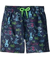 Vilebrequin Kids - Jim X Florence Broadhurst Swim Trunk (Toddler/Little Kids/Big Kids)