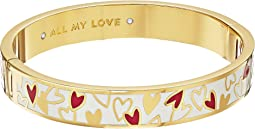 Kate Spade New York - All My Love Hinged Idiom Bangle
