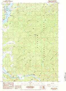 Oregon Maps - 1984 Devils Lake, OR USGS Historical Topographic Map - Cartography Wall Art - 35in x 44in