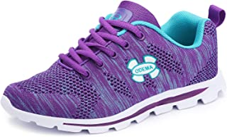 Odema Womens Comfort Running Sneakers Lowtop Fashion Sneakers Trainers Sports Lace up Walking Shoes