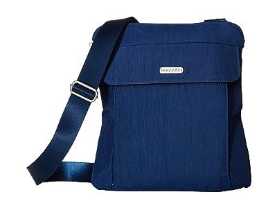 Baggallini All in RFID Slim Crossbody (Pacific) Handbags