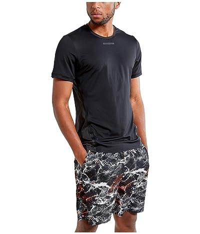 Craft Vent Mesh Short Sleeve Tee (Black) Men