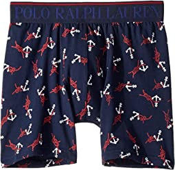 Cruise Navy/RL2000 Red/White Anchors Print