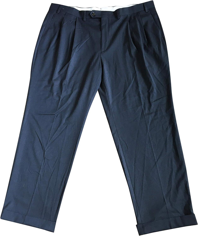 Polo Ralph Lauren Men's Pants EMANPDGXD543 Polyester/Viscose Blend Blue (42x30)