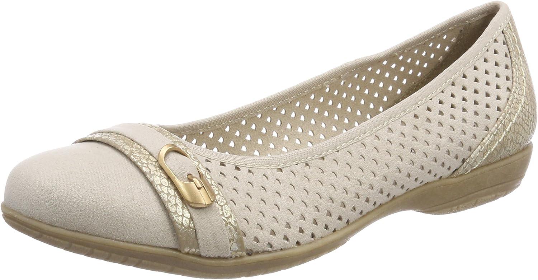 Softline Soft Line 22160-20 - 405 Dune (Cream) Womens shoes