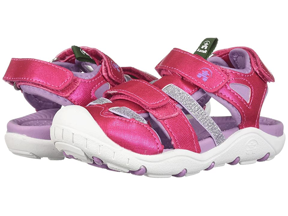 Kamik Kids Pearl (Toddler/Little Kid/Big Kid) (Rose) Girls Shoes