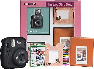 Fujifilm Instax Mini 11 Instant Camera (Charcoal Grey) Gift Box