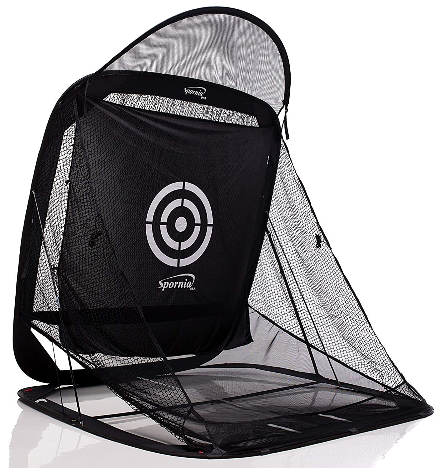 Spornia Spg-7 Golf Practice Net - Automatic Ball Return System w/Target Sheet, Two Side Barrier wihldhddn1968000