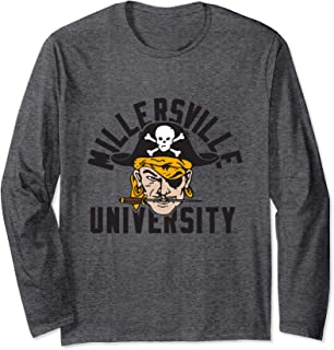 Millersville University NCAA Crew Neck Long Sleeve MVC0A2L-1