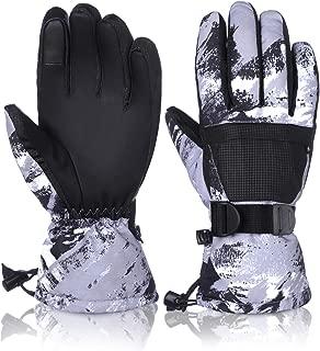 Ski Gloves Winter Touchscreen Gloves Snowboard Gloves Waterproof Snow Gloves for Outdoor Sports