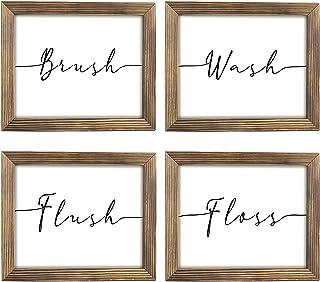 brush floss and flush LED Nightlight Wash