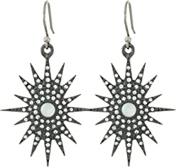 Lucky Brand - Starburst Drop Earrings