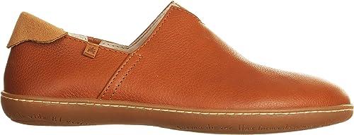 El Naturalista N275 Soft Grain Cuero EL Viajero Cuir Femme 39 Chaussures élastique