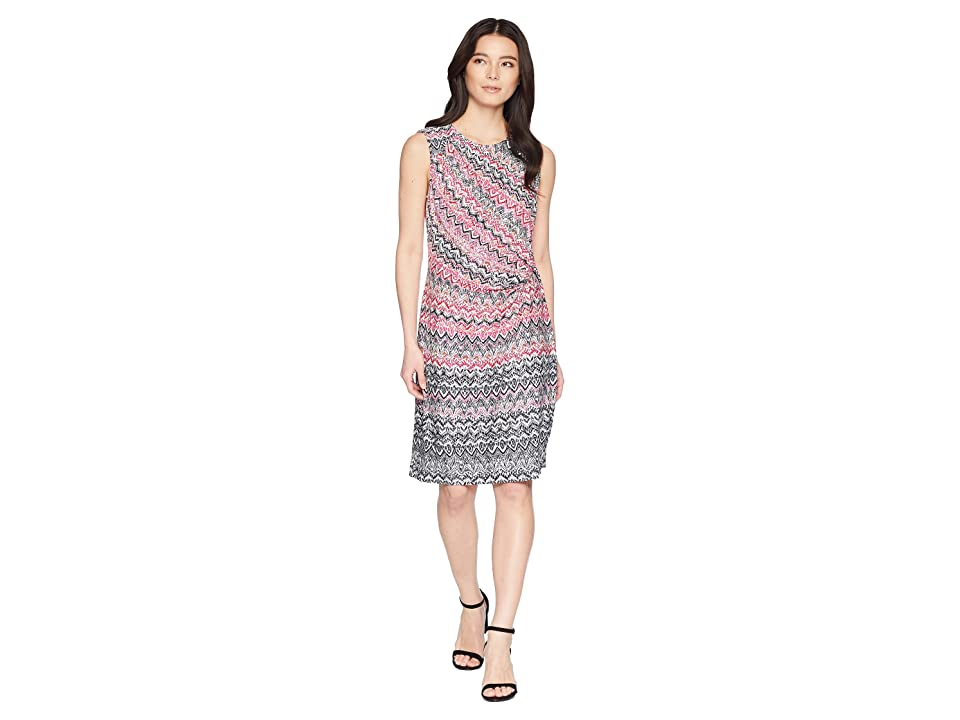 NIC+ZOE Petite Spiced Up Twist Dress (Multi) Women