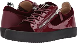 May London Low Top Velvet Sneaker