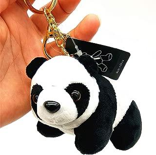 panda plush keychain