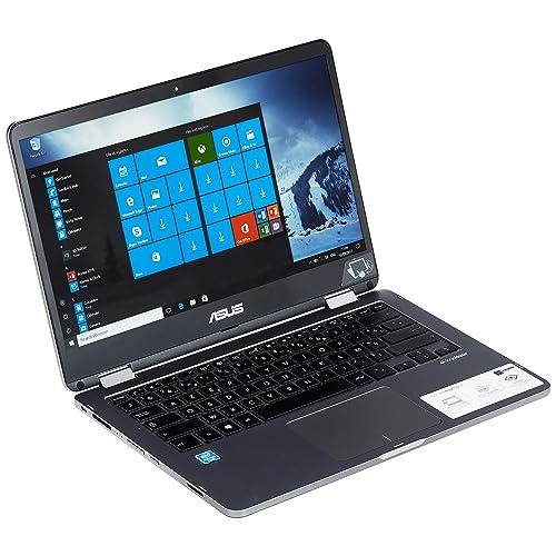 """Asus TP401MA-BZ024T PC Portable hybride tactile 14"""" (Intel Pentium, 4 Go de RAM, EMMC 128 Go, Windows 10S) Clavier AZERTY Français [Ancien Modèle]"""