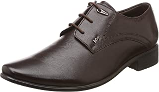 Lee Cooper Men's Formal Modern Classic Lace up Leather Oxford Dress Shoes