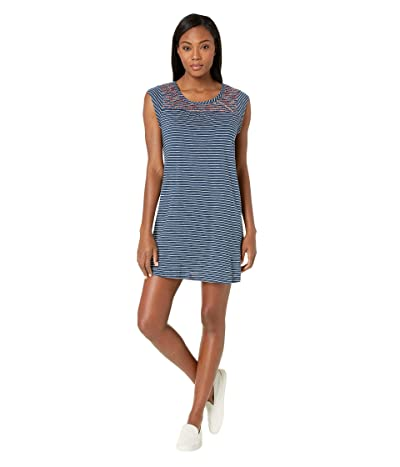 Carve Designs Courtney Dress (Dusk Stripe) Women