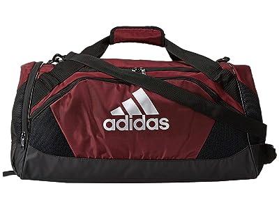 adidas Team Issue II Medium Duffel (Light Maroon) Duffel Bags