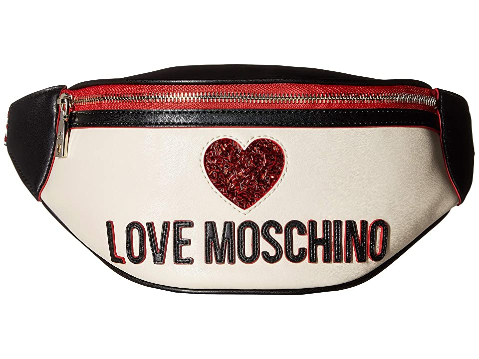 LOVE Moschino - LOVE Moschino Heart Design Fanny Pack