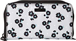 Onyx Be Spendy Zip Around Clutch Wallet