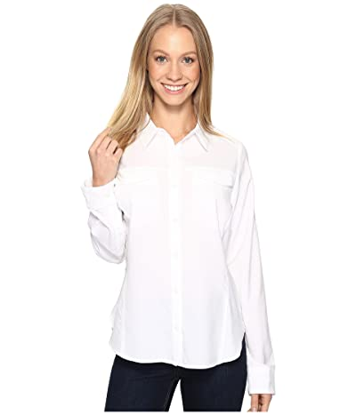 Columbia Silver Ridge Lite Long Sleeve Shirt (White) Women