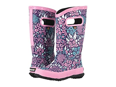Bogs Kids NW Garden Rain Boot (Toddler/Little Kid/Big Kid) (Grape Multi) Girls Shoes