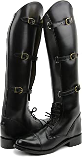 Hispar Women Ladies Crown Field Horse Riding Boots Stylish Fashion Equestrian