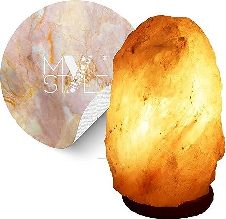 My Custom Style Himalayan Salt Lamp With Underlamp