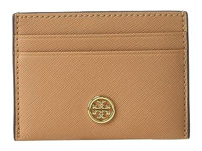 Tory Burch Robinson Card Case (Cardamom) Wallet