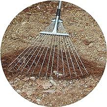 XIAOXIAO tuin hark Tuin Blad Hark Struik Binnenplaats Bezem Gereedschap Met Telescopische Rvs Handvat Voor Snelle Opruimin...