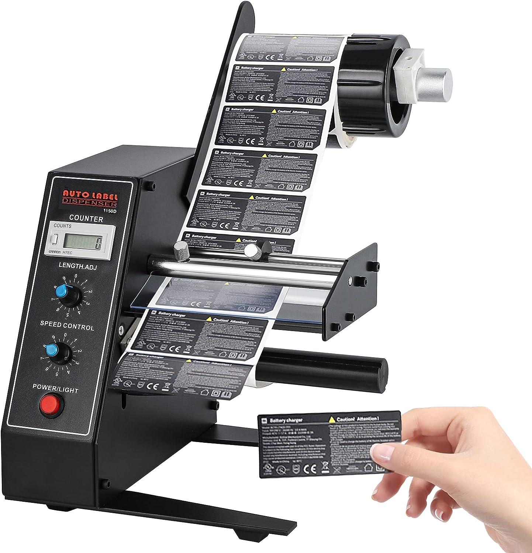 Automatic Label Dispenser Machine Stripper Separating Machine Pe