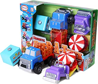 Popular Playthings Magnetic Build-A-Vehicle (County Fair)