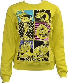 Disney Women's Pixar Monsters, Inc. Crew Neck Sweatshirt