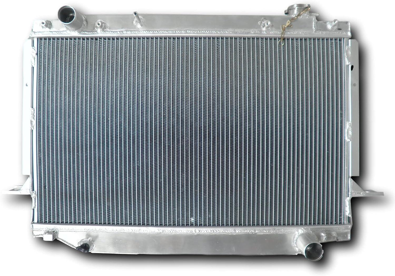 50mm 2Row Aluminum Indefinitely Radiator For Toyota Landcruiser 80 1993-1997 Max 82% OFF