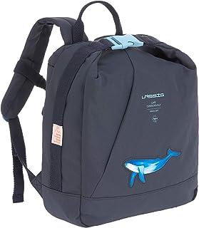 LÄSSIG Unisex Mini Backpack Ocean navy Kinderrucksack, Blau, 25 x 10 x 30 cm