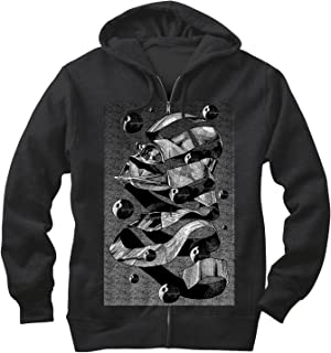 Star Wars Men's MC Darth Vader Zip Up Hoodie