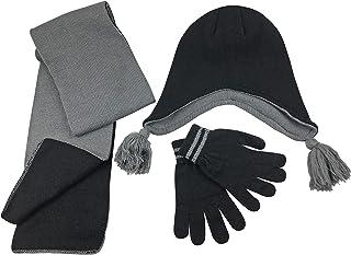 طقم إكسسوار قبعة/سكارة/قفاز مطاطي سحري للأطفال من N'Ice Caps