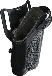 Safariland 6280 Level II SLS Retention Duty Holster, Mid-Ride, Black, Basketweave, Glock 17, 22 with M6 Light