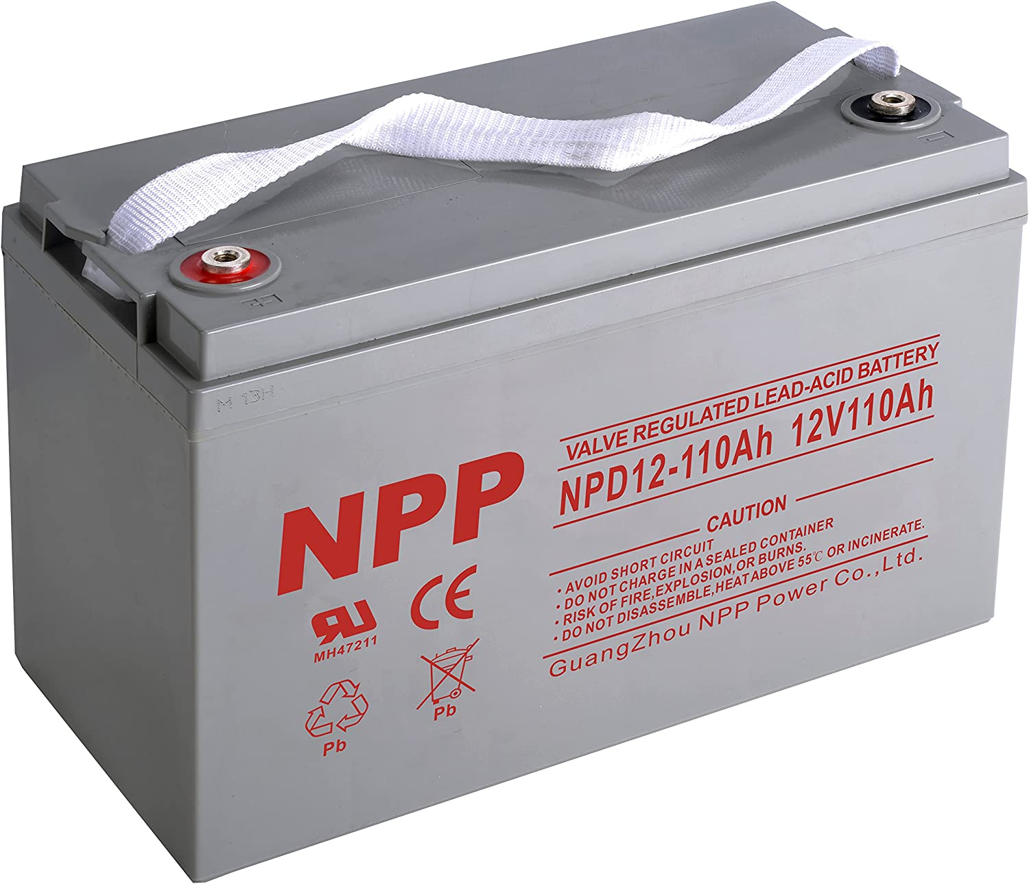 NPP NPD12-110Ah 12V 110Ah 12Volt Oakland Mall Cycle Rechargeable AGM sold out VRL Deep