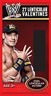 Paper Magic 27CT Lenticular WWE Kids Classroom Valentine Exchange Cards