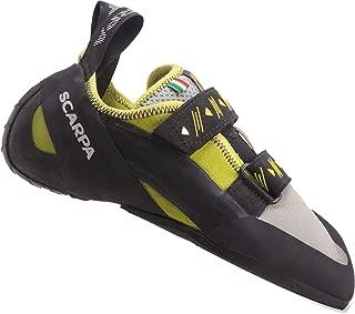 SCARPA Vapor V Men's Rock Climbing Shoe, Lime, 41